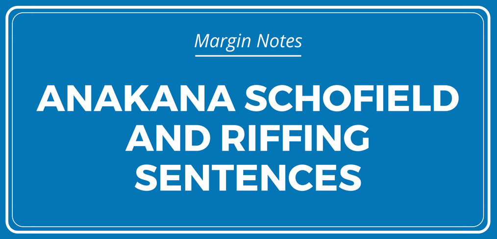 How to Riff Sentences for Stunning Stories